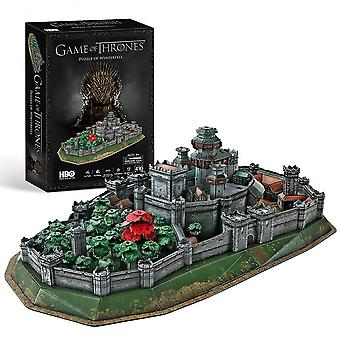 Game of throne - winterfell - 3d puzzle