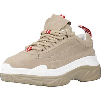 Coolway sport/Shia kleur zand sneakers