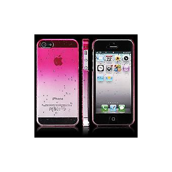 Plastic Shell Pattern Goutte D-Apos; Water Degraded Rose For IPhone 5