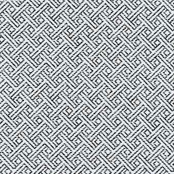 Mcalister textiles monterrey noir et tissu blanc