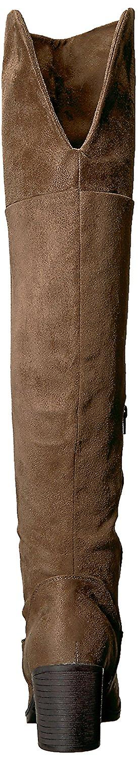 Journee Collection Womens SANA Almond Toe Over Knee Fashion Boots