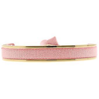Les verwisselbare armband A47394-Jonc Ruban verwisselbare 6mm roze vrouwen