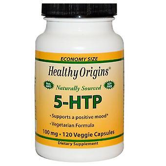 5-HTP 100 mg (120 veggie caps) - Origens saudáveis