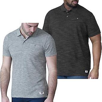 Duke D555 Mens Dunstan King Size Big Tall Short Sleeve Polo Shirt T-Shirt Top