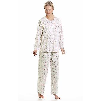 السيدات في لوم حك كودلي الأزهار بولي الأقمشة القطنية بيجاما نوم ملابس النوم 57417