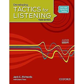 Tactiques pour l'écoute: développement: livre de l'élève