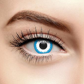Blue Elf Coloured Contact Lenses (Daily)