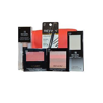 Revlon Love Series Face Travel Collection Balm, Palette, Blush, Liner, Primer