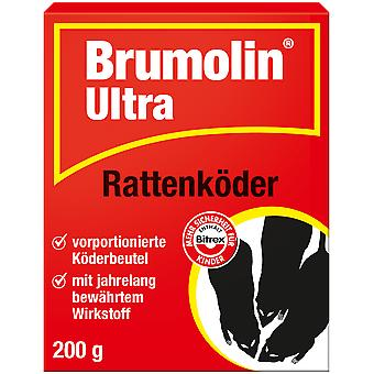 SBM Brumolin® Ultra rat bait, 200 g