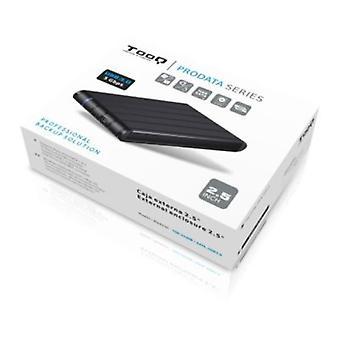 """External Box TooQ TQE-2530B HDD 2.5"""" SATA III USB 3.0 Black"""