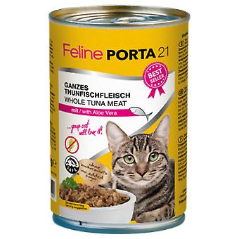 Porta21 Tuna / Aloe Vera - No Grain - (Cats , Cat Food , Wet Food)