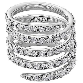 Adore Jewelry Woman Sterling Silver Not Available Ring 5259868
