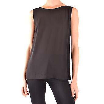 Hanita Ezbc433010 Women's Black Polyester Top