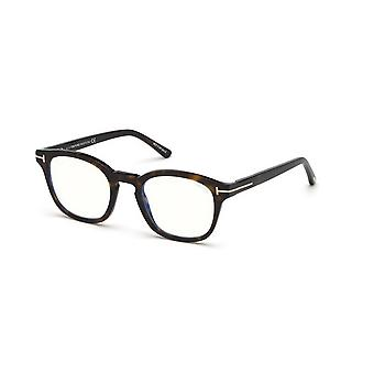 Tom Ford TF5532-B With Clip-on 52E Dark Havana/Brown Glasses