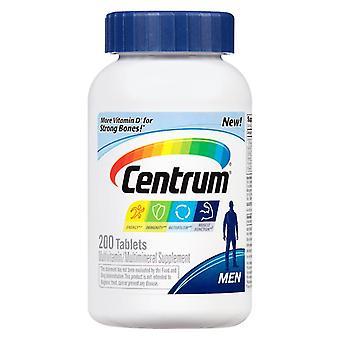 Centrum men, multivitamin/multimineral, tablets, 200 ea