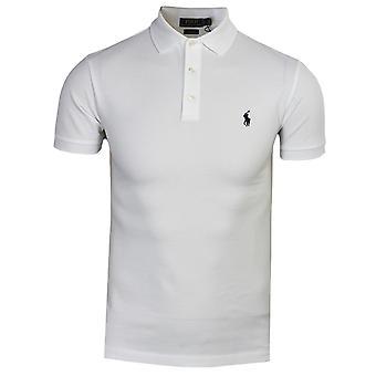Ralph lauren men's white polo shirt