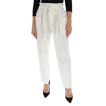 Red Valentino Tr0rbc454yn031 Women's White Cotton Pants