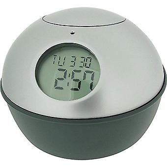 Mr Dome Digital Sensor Controlled Silver Calendar Clock CK152