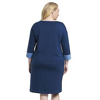 レーシュ 1194523-11726 女性&アポス;s カーブ フェード デニム ブルー ナイトドレス