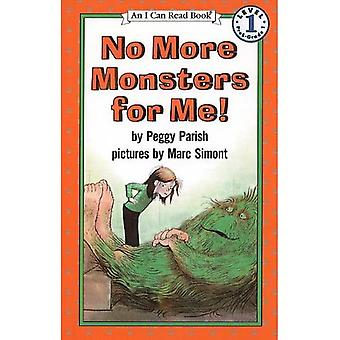 No More Monsters for Me! (I Can Read Books: Level 1