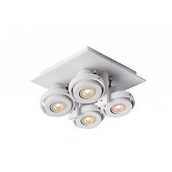 Lucide Landa Modern Square alumiini valkoinen katto Spotlight
