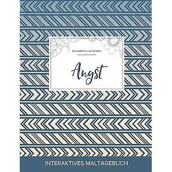 Maltagebuch fr Erwachsene Angst Schildkrten Illustrationen Tribal by Wegner & Courtney