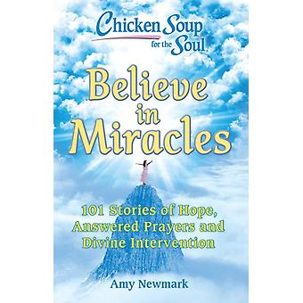Chicken Soup for the Soul Believe in Miracles by Newmark & Amy