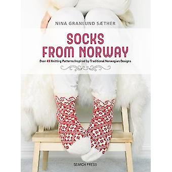 Chaussettes de Norvège - Plus de 40 motifs de tricot inspirés par les traditionnels
