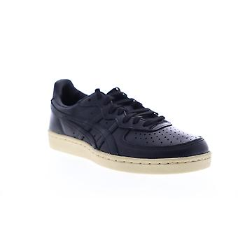 Onitsuka Tiger Gsm Mens Black Leather Lifestyle Sneakers Shoes