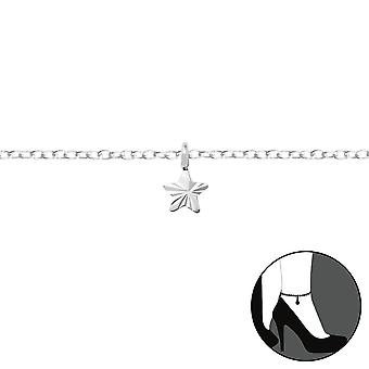 Star - 925 Sterling Silver Anklets - W35937x