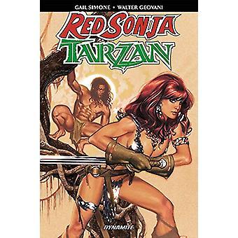 Red Sonja Tarzan by Gail Simone - 9781524108472 Book