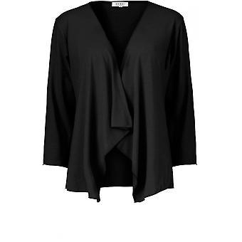 Masai Kleidung Itally schwarz Jersey Cardigan