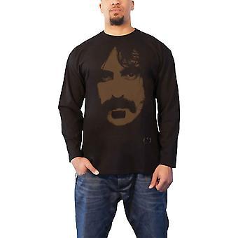 Frank Zappa T Shirt Apostrophe Image Logo new Official Mens Black Longsleeve