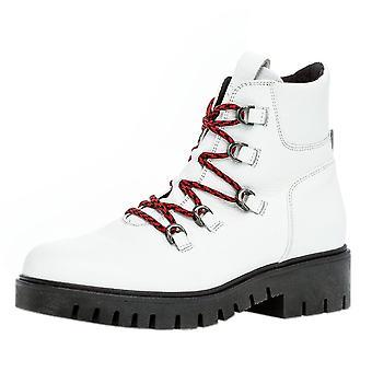 غابور وادي واسعة صالح المشي لمسافات طويلة نمط الأحذية باللون الأبيض