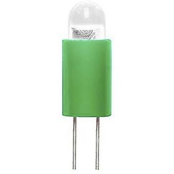 Barthelme Dioda LED Bi-pin 3.17 mm Zielony 12 V DC 70117213