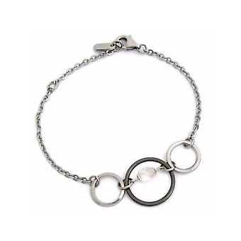ZABLE Stainless Steel Crystal Bracelet