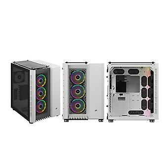 Corsair Crystal 680X Rgb High Airflow Dual Chamber Cube Case White