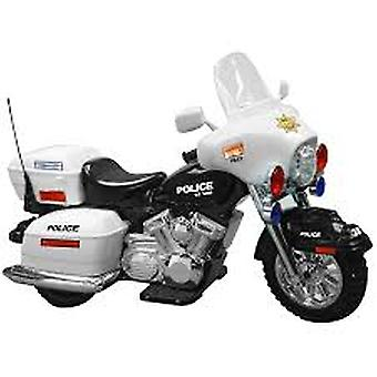 Kid Motorz Police Motorcycle Battery Powered Riding Toy
