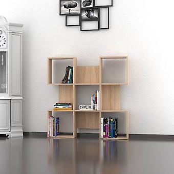 Quat Farbmutter Bibliothek in Melaminic Chip 120x20x120 cm
