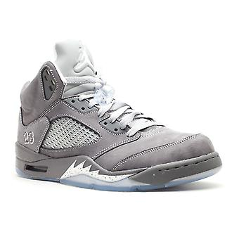Air Jordan 5 retrô 'lobo cinzento' - 136027-005-sapatos