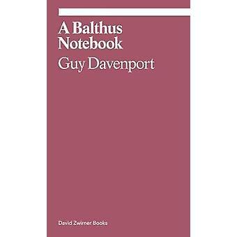 A Balthus Notebook by Guy Davenport - 9781644230329 Book