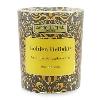 Carroll & Chan 100% Beeswax Votive Candle - Golden Delights 65g/2.3oz