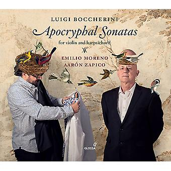 Boccherini / Moreno / Zapico - Apocryphal Sonatas [CD] USA import