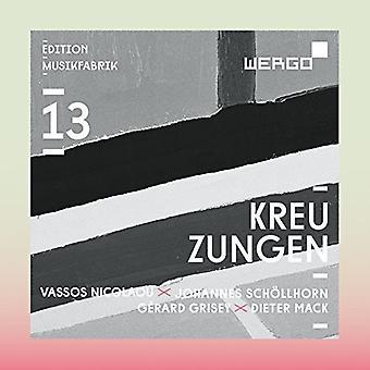 Grisey / Musikfabrik - Kreuzungen [CD] USA import