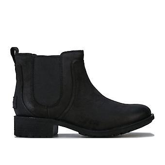 Women's Ugg Australia Bonham Leather Chelsea Boots in Black