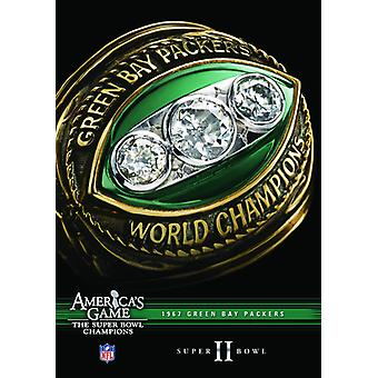 NFL America's Game: 1967 Packers (Super Bowl II) [DVD] USA import