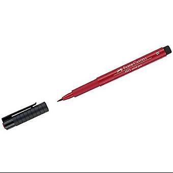 فابر كاستيل الحبر الهندي الفنان القلم فرشاة 219 أحمر القرمزي العميق