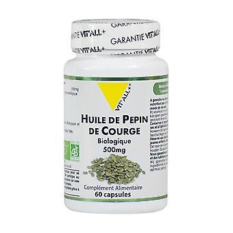 Pumpkin seed oil 500mg 60 capsules
