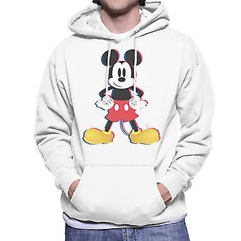 Disney Mickey Mouse 3D Effect Pose Men-apos;s Sweatshirt à capuchon