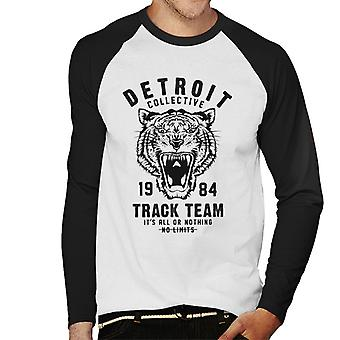 London Banter Detroit Collective Men's Baseball Long Sleeved T-Shirt